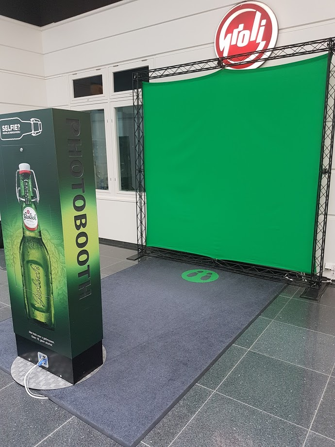 Grolsch Brouwerij - photobooth met greenscreen