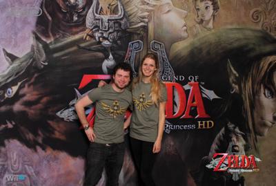 NIntendo Zelda foto-activatie
